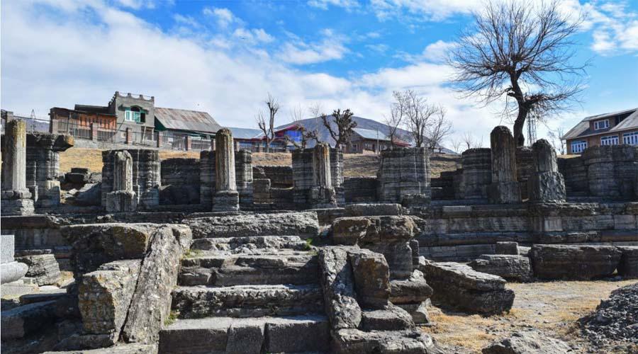 awantipura ruins pahalgam