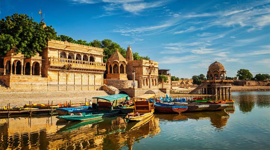 Boat in Jaisalmer