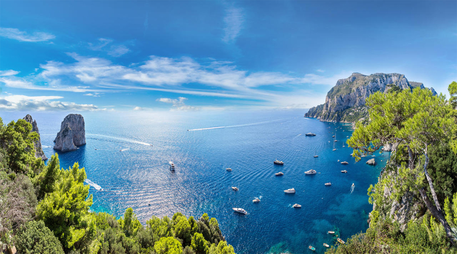 Capri Amalfi tour