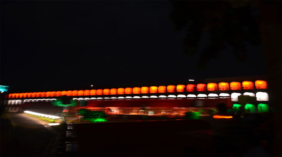 Cellular Jail Light show