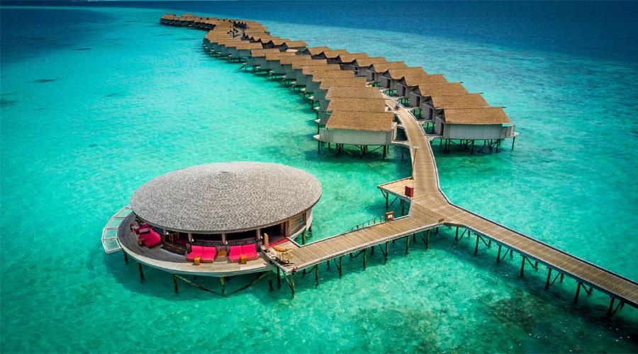Centara Ras Fushi Resort Drone
