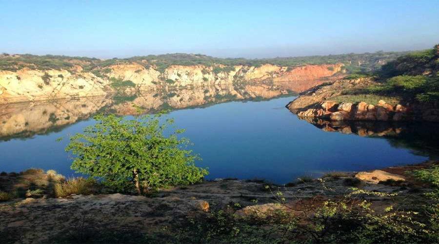 Dhauj Lake