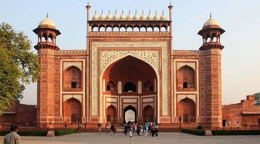 Entrance Royal Gate of Taj Mahal