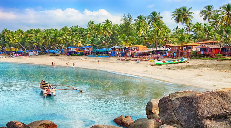 Colva Beach Side,South Goa