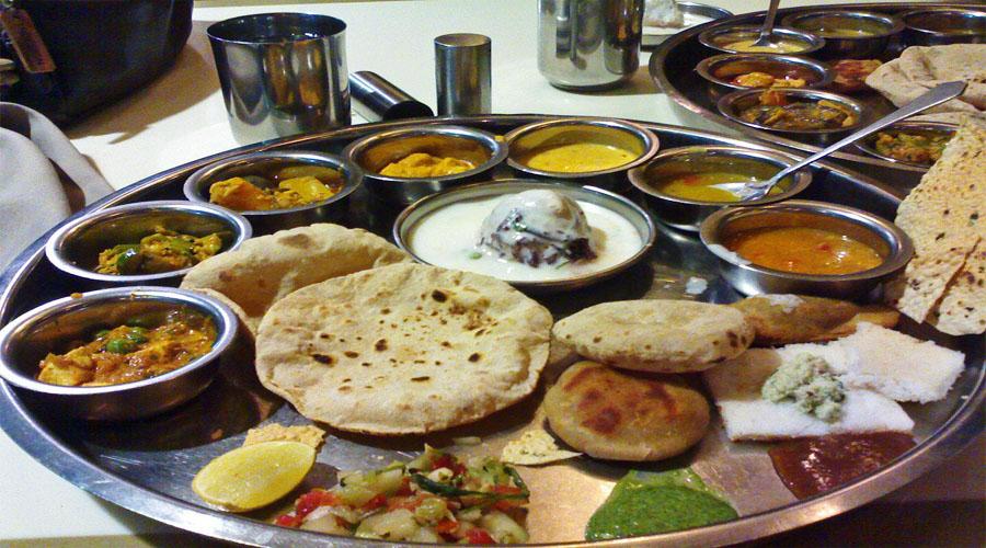 Gujarat Thali