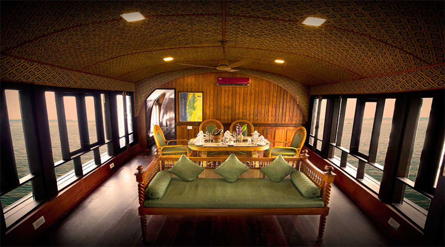 Interior Houseboat, Alleppey