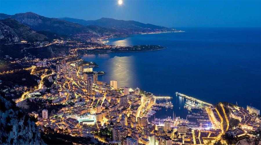 Monaco Night Tour from Nice