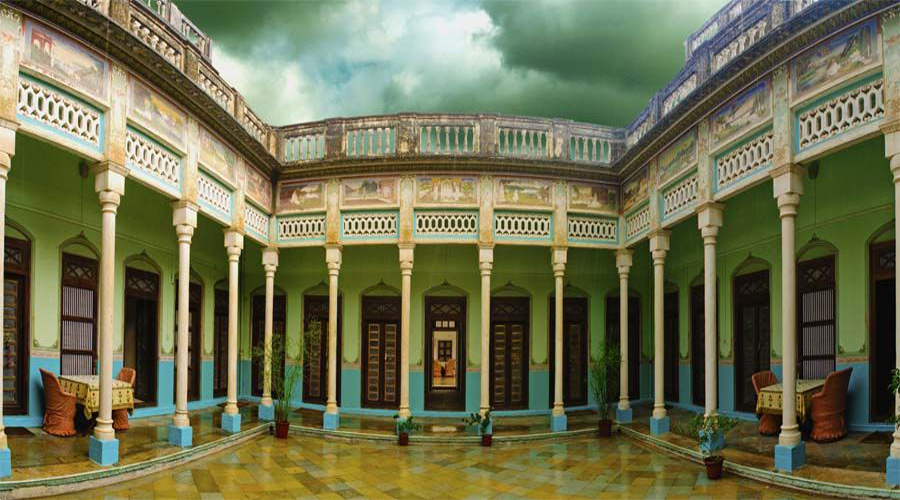 Parimal Haveli Courtyard