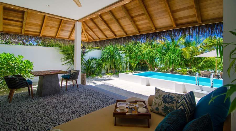 Private Pool Villa Finohul Resort