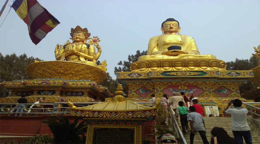 Swayambhunath Stupa Nagarkot