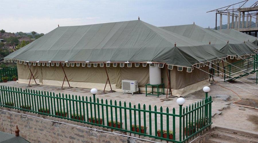 Swiss Tent Exterior