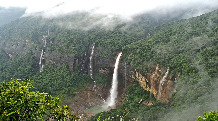 Kalikal Falls Shillong
