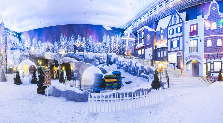 Snow world park