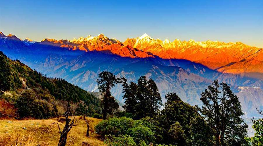 Sunset view at Himalayan