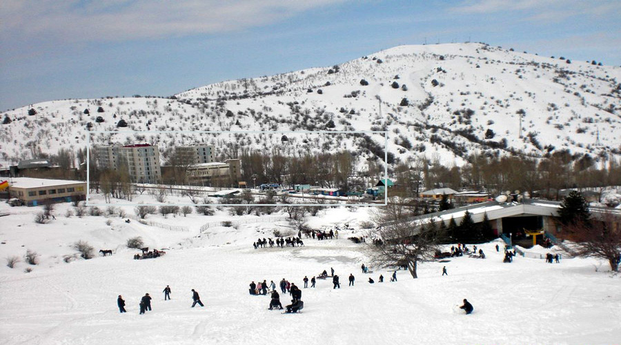 Chimgam Mountain Tashkent