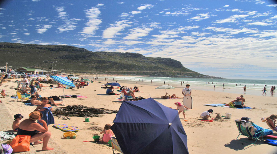 Fish Hoek Beach Capetown