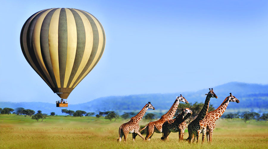 Hot Air Ballon Safari Maasai Mara