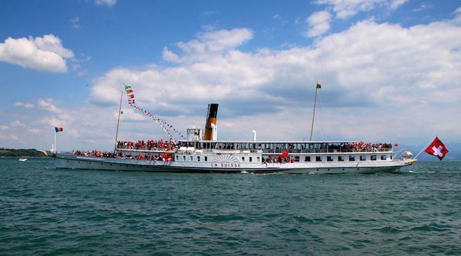 Lake Cruise to Lausanne Monterux