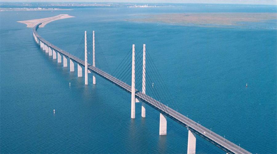 Oresund Bridge Copenhagen