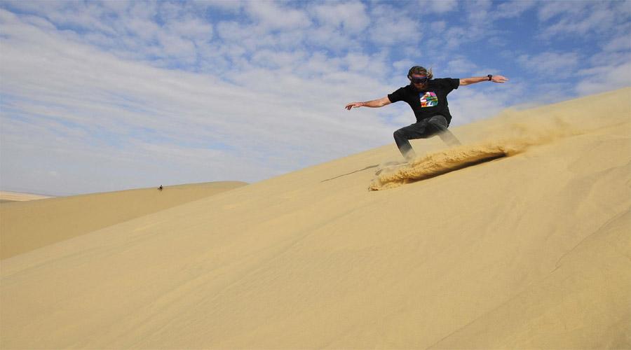 Sandboarding Capetown