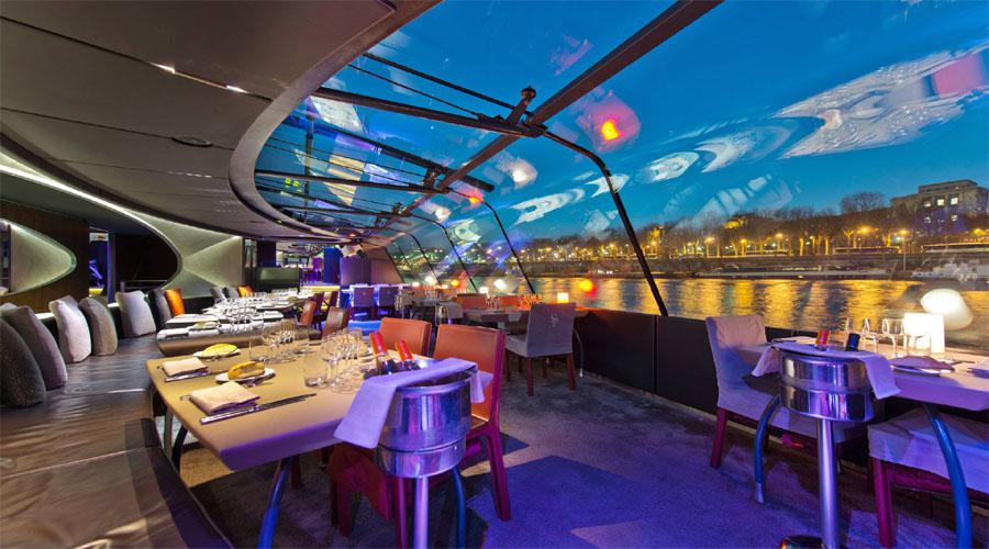 Sciene Cruise Dinner Paris