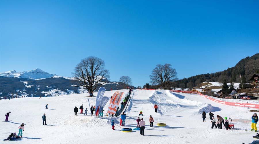 Skiing Interlaken