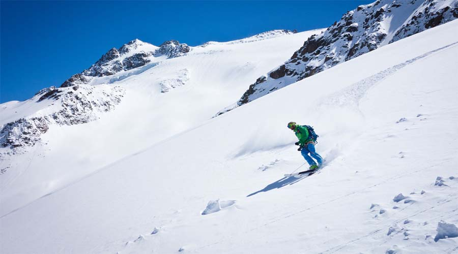 Skiing Glaciers Swiss