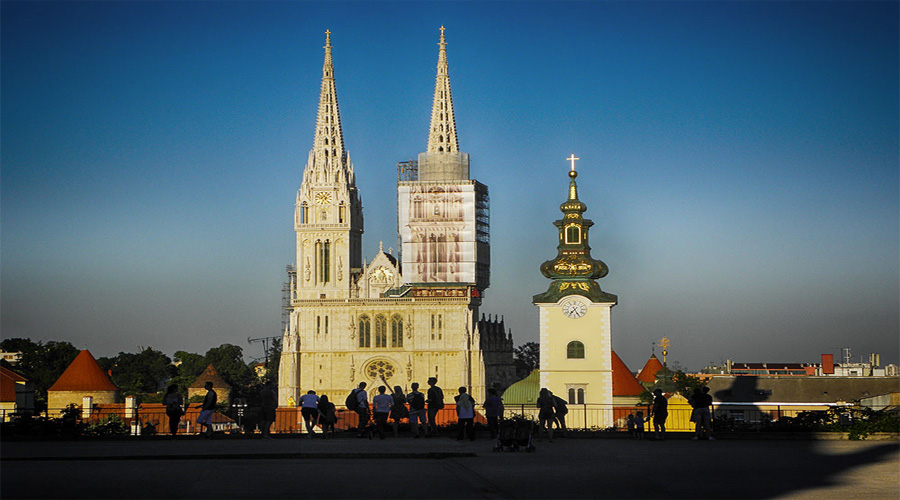 St Gothic Cathedral Zagreb