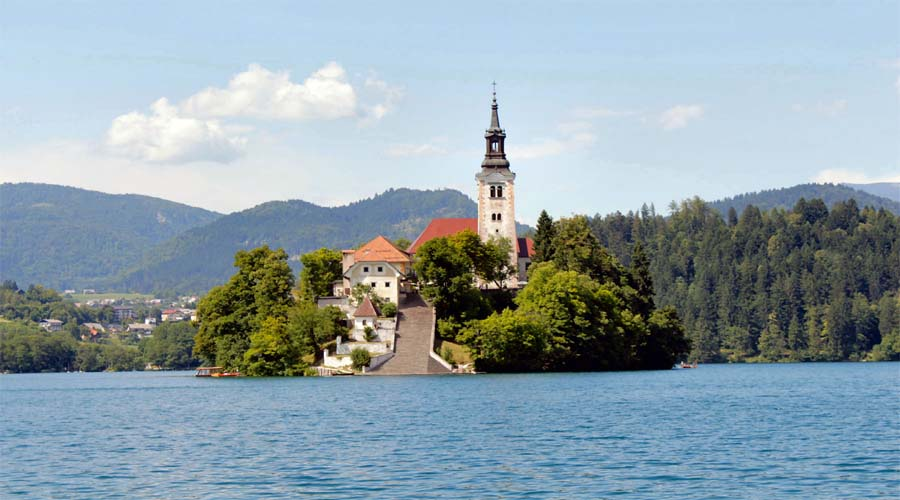 St Mary Church Bled