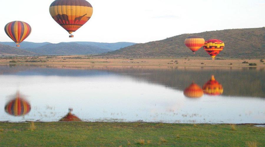 Pilanes National Park Hot Air Ballon Sun City