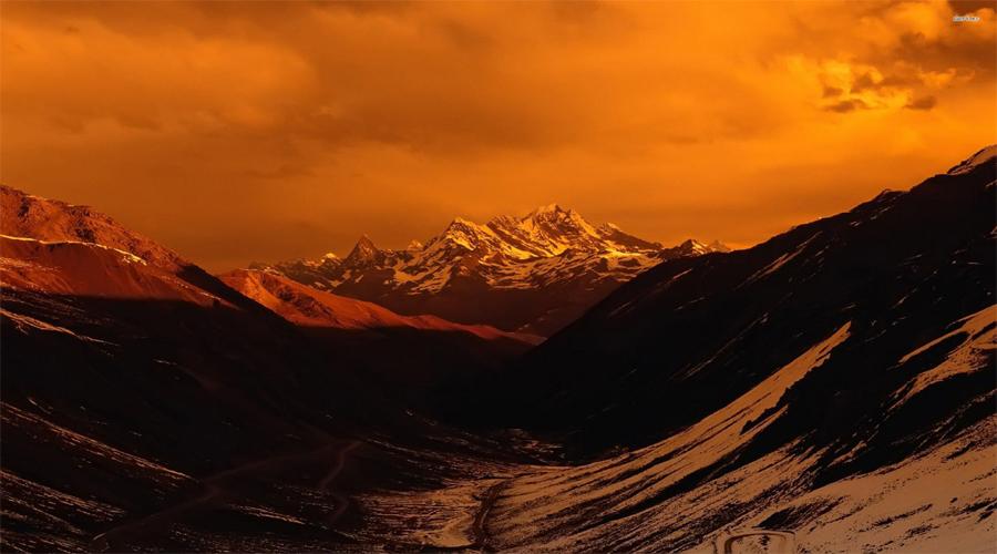 Sun Set  Nagarkot