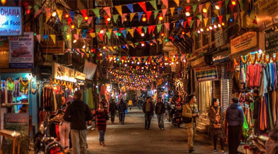 Thamel Tourist Hub Kathmandu