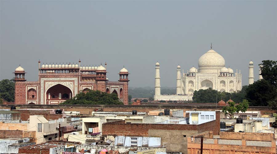 Taj View from top
