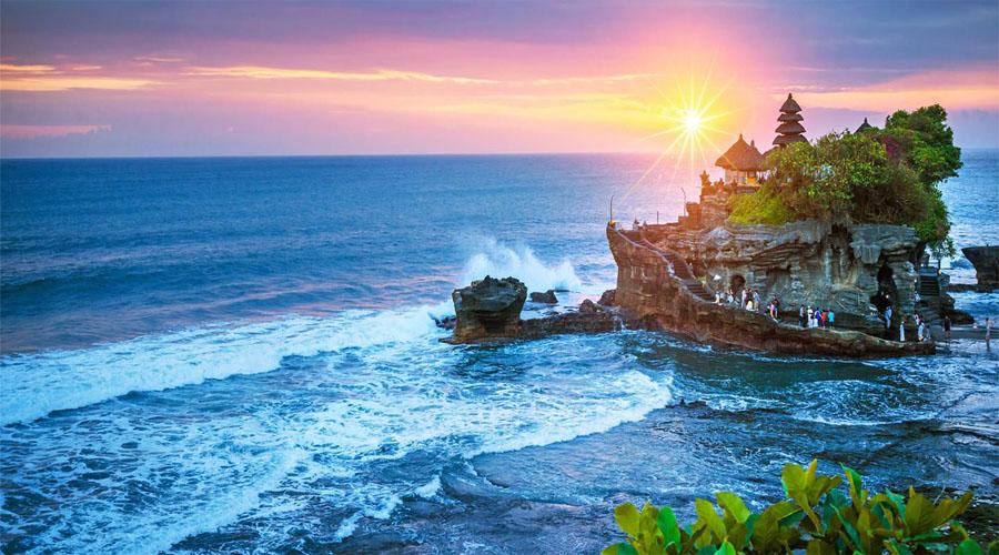 Sunset Tanah Lot Temple,Bali