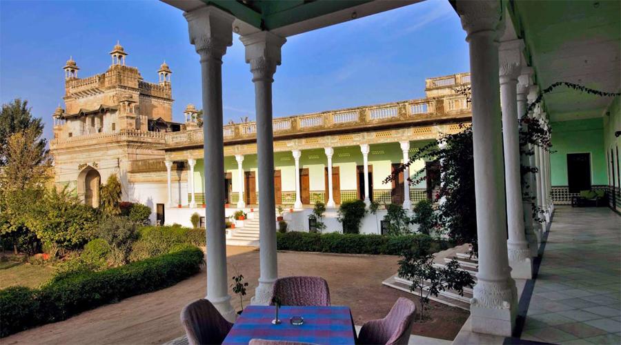 The Piramal Haveli Exterior