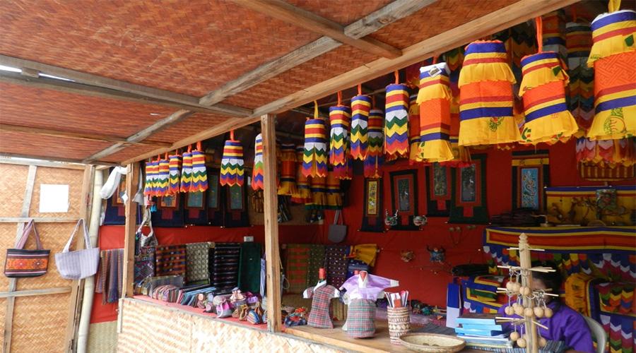 Thimpu Market