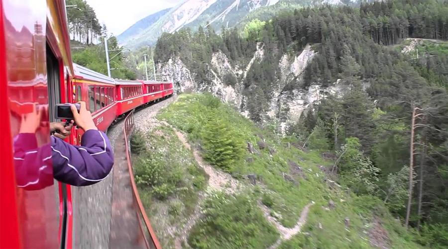 Train St. Moritz