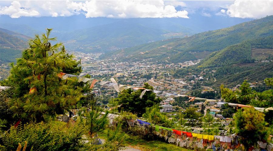 Stunning View from Bhutan Brigde