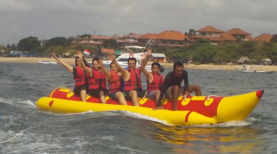 Banana Boat Ride,Bali