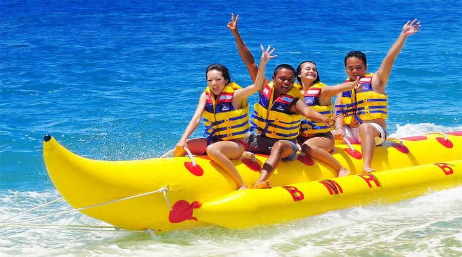 Banana Boat ride , Bali