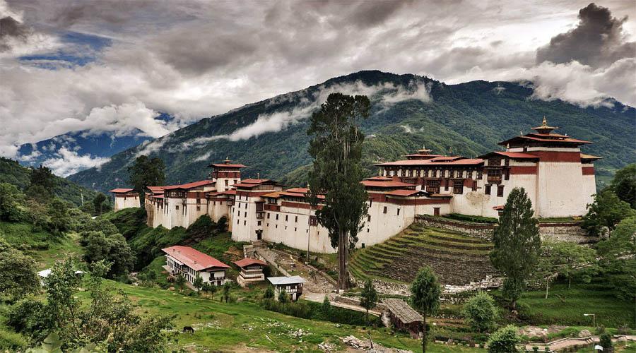 Trongsa Dzong,Bumthang