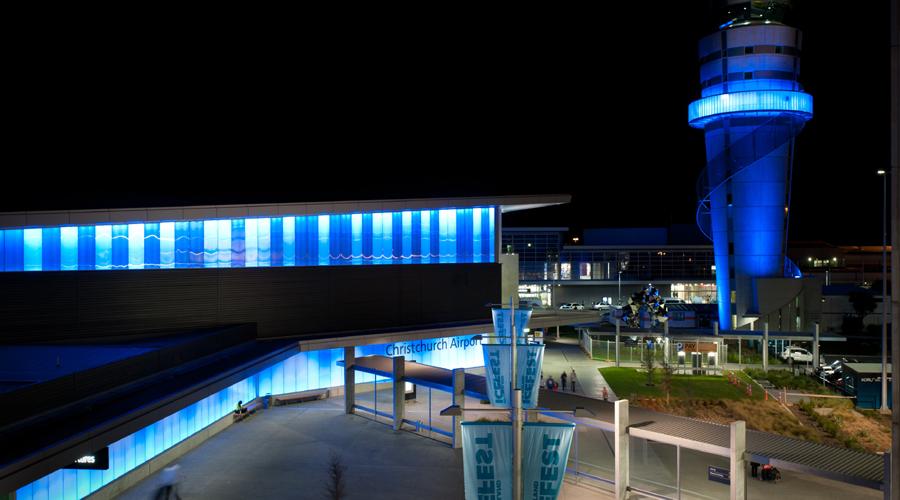 Christchurch airport