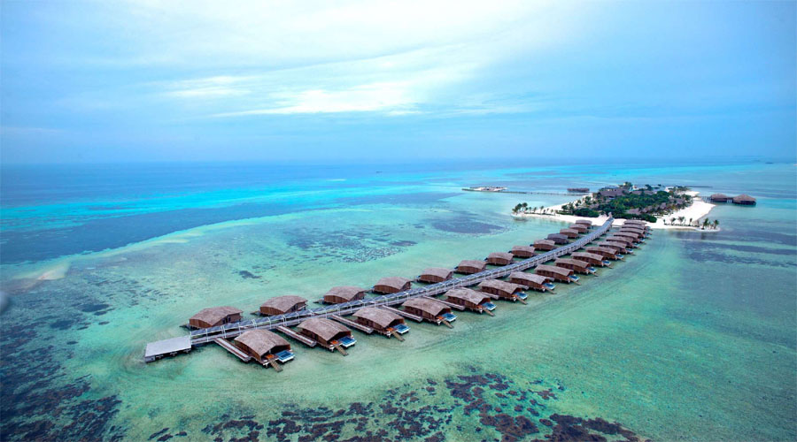 Club Med Finholu view