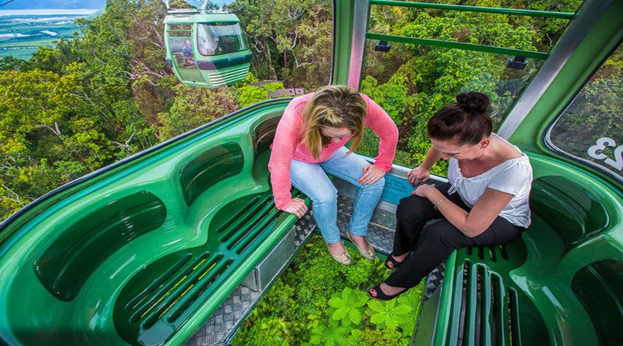 Cable Car ride at Kuranda
