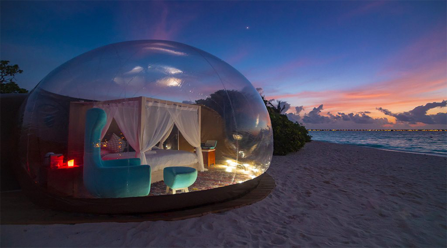 Beach Bubble Room