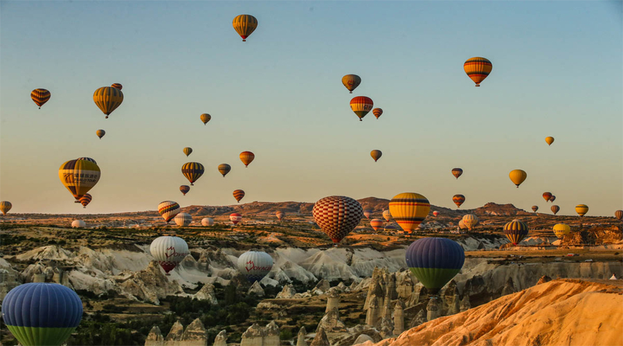 Hot Air Balloon,Cappadocia