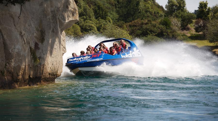 Huka Fall Tour, Rotorua