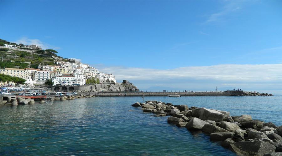 Naples sea sun
