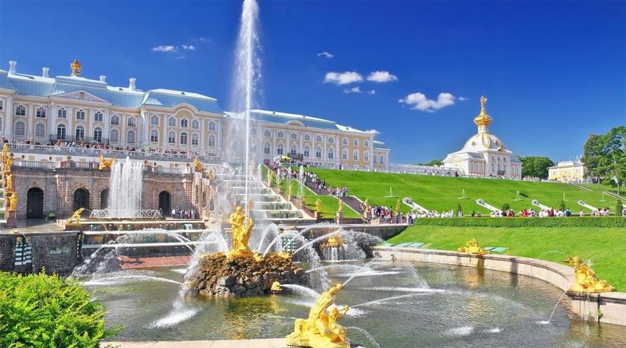 Peterhof (Park & Palace)
