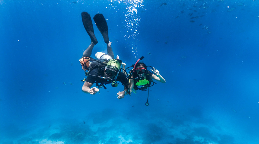 Snorkeiling in coco